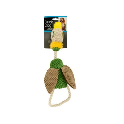 Fabric Duck Dog Toy ( Case of 16 )