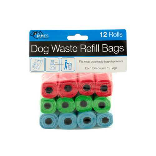 Dog Waste Refill Bags ( Case of 8 )