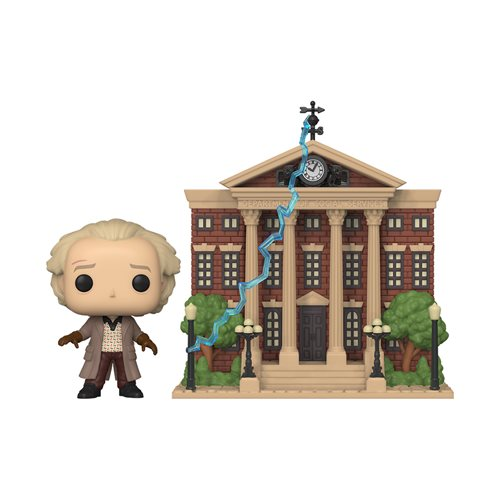 Back to the Future Doc with Clock Tower Town (Preorder)