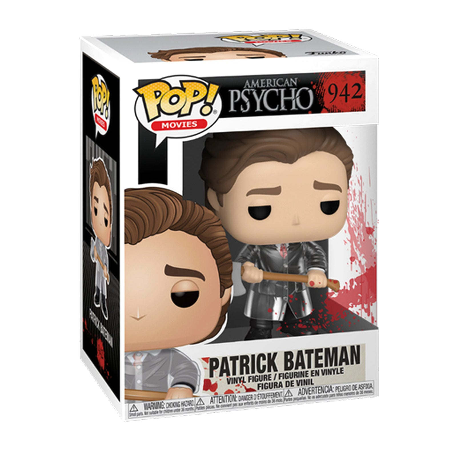American Psycho Patrick Bateman with Axe