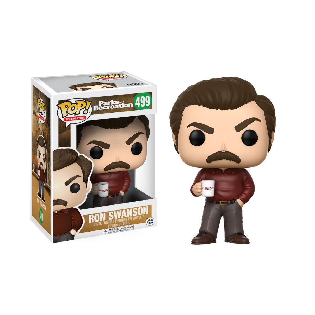 Parks and Recreation Ron Swanson (Not Mint)