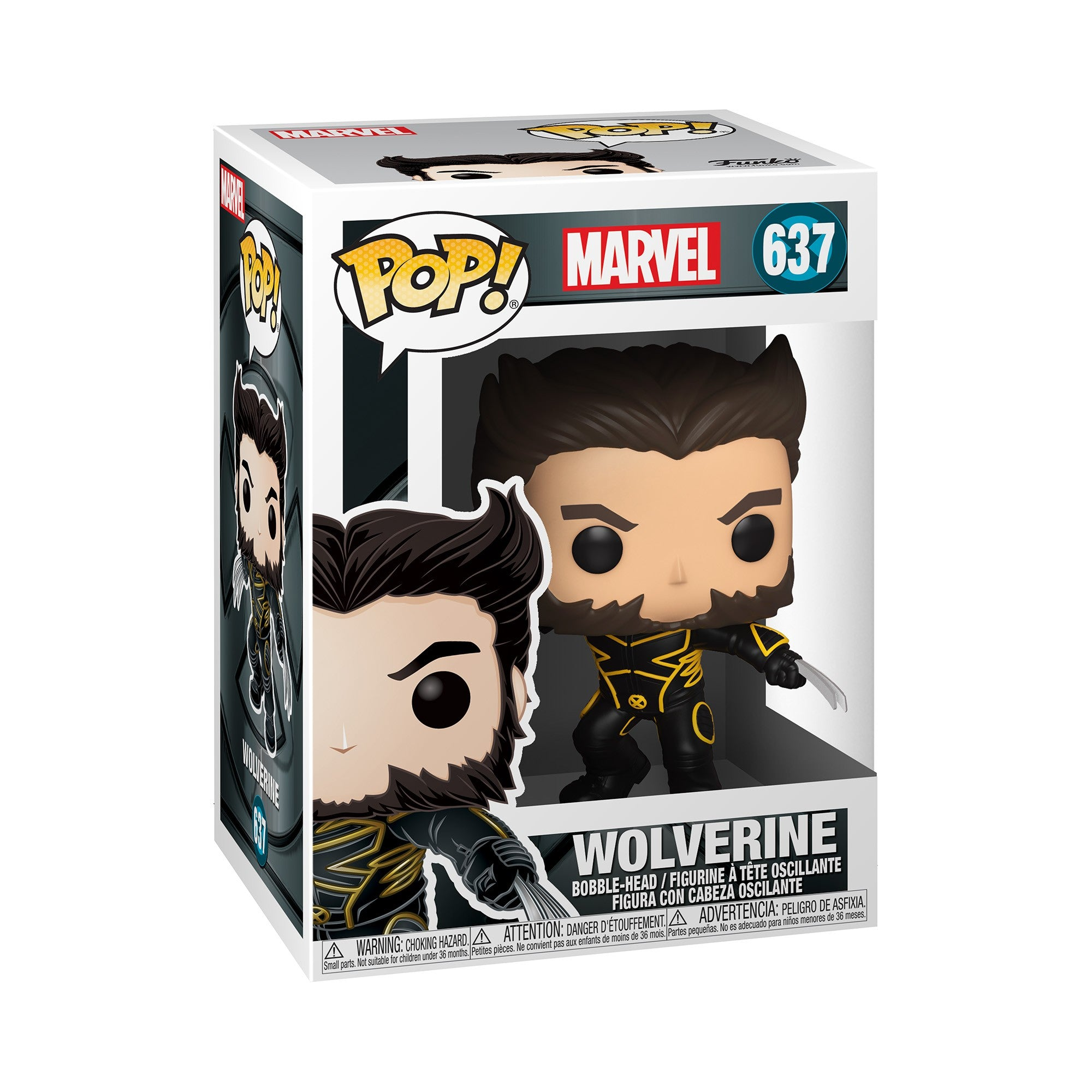 Marvel X-Men 20th Anniversary Wolverine in Jacket