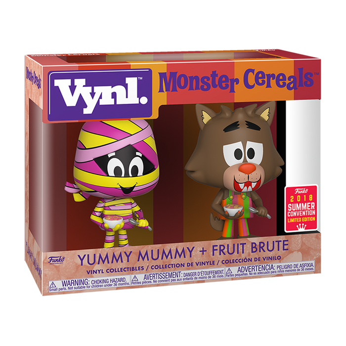 Vynl Yummy Mummy and Fruit Brute Exclusive