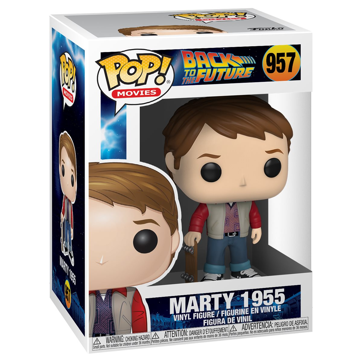 Back to the Future Marty 1955