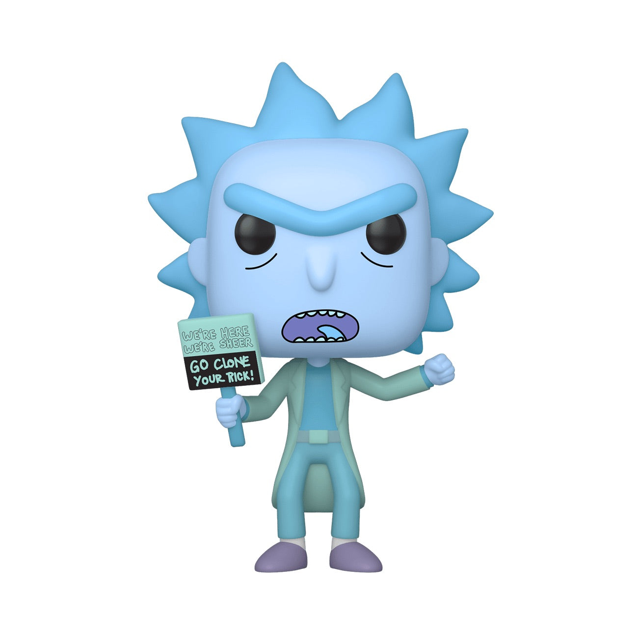 Rick and Morty Hologram Rick Clone