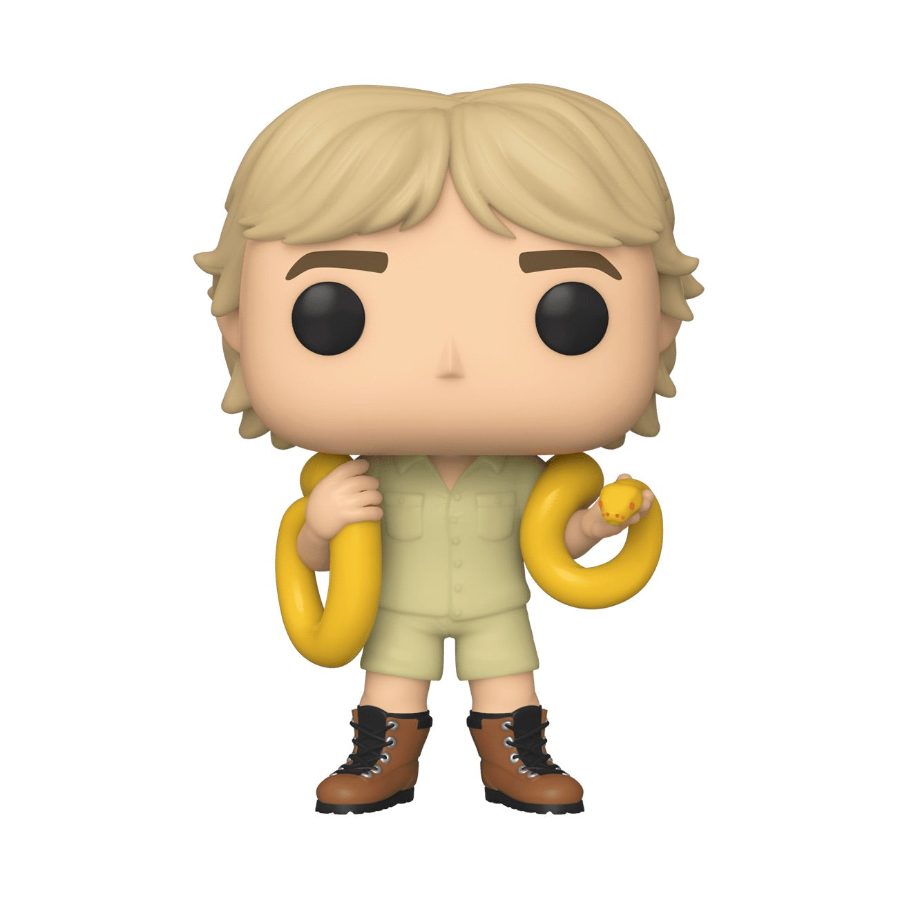 Crocodile Hunter Steve Irwin with Snake Australia Zoo Exclusive
