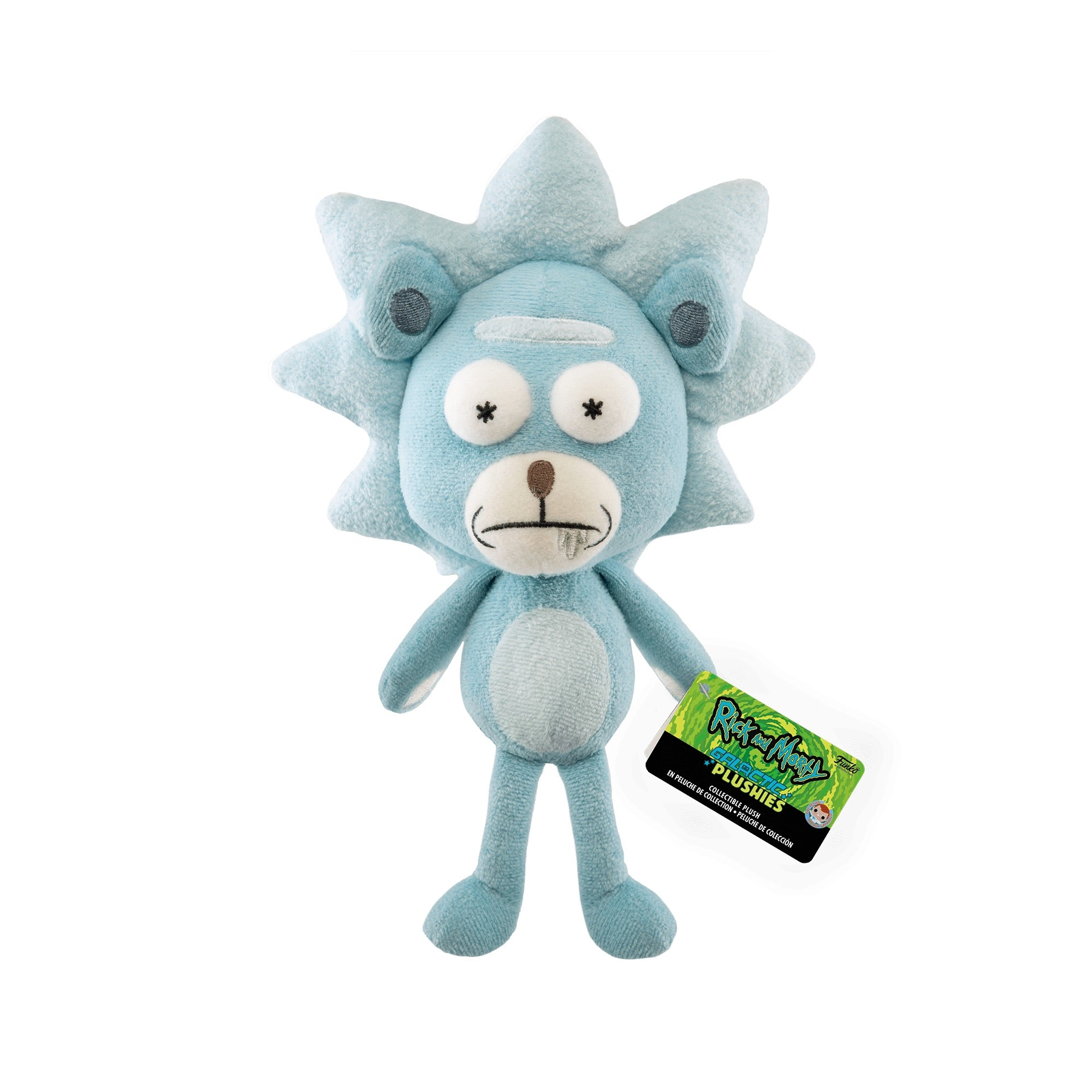 Rick and Morty Teddy Rick Galactic Plushie