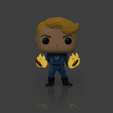 Fantastic Four Human Torch Suited Glow in the Dark Specialty Series Exclusive