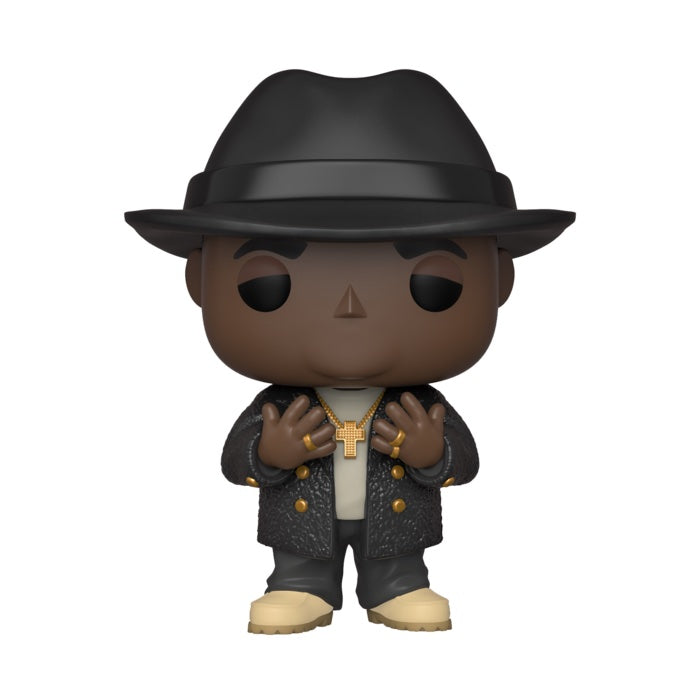 Notorious B.I.G. Biggie with Fedora