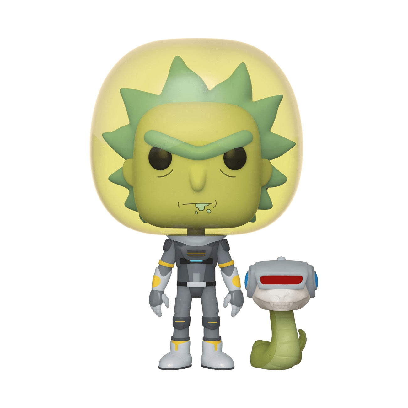 Rick and Morty Space Suit Rick With Snake