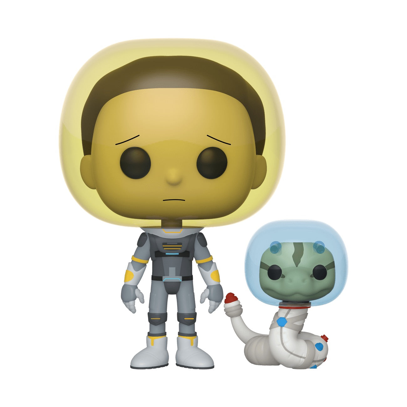 Rick and Morty Space Suit Morty With Snake