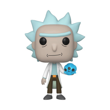 Rick and Morty Rick With Crystal Skull (February Preorder)