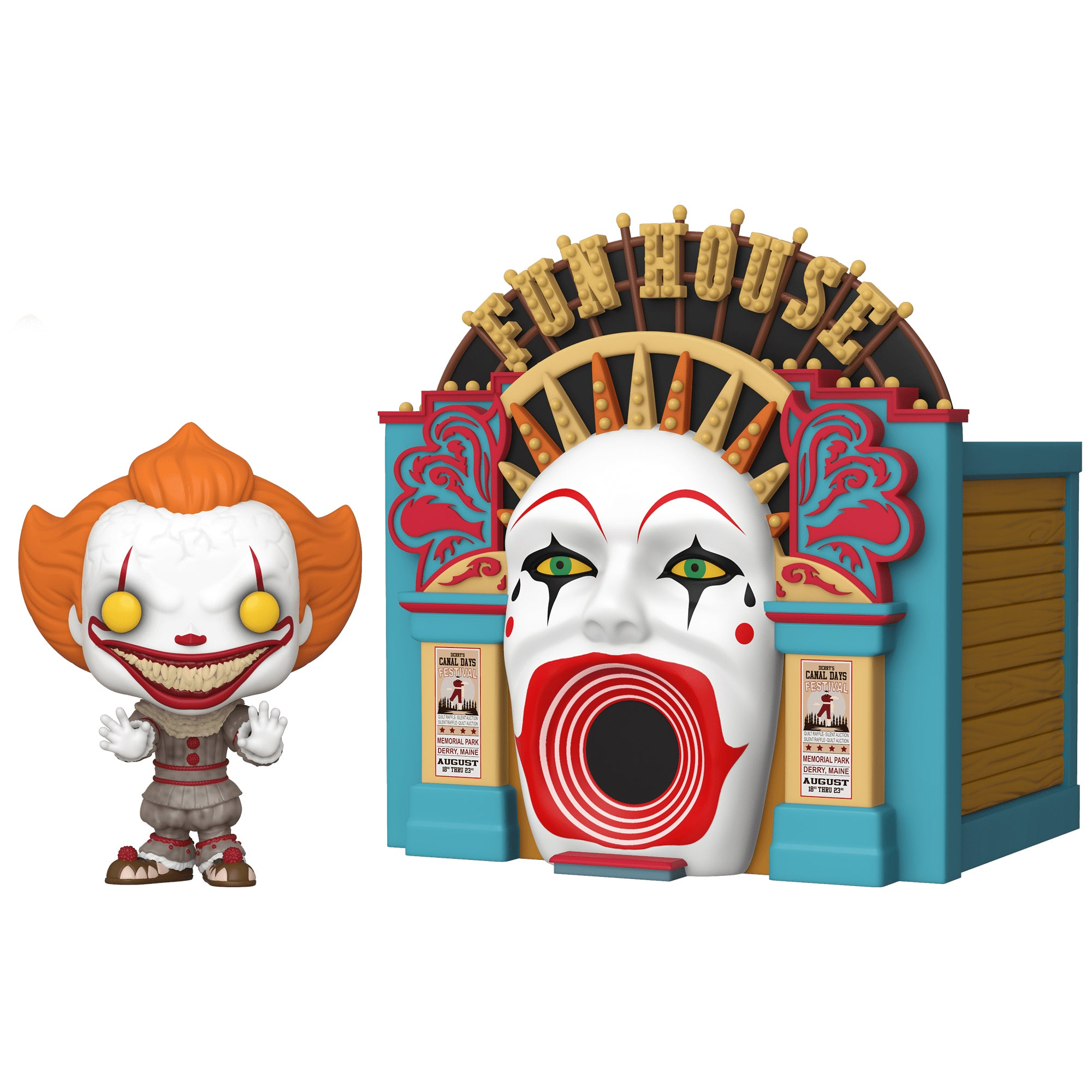 It Chapter 2 Demonic Pennywise with Funhouse Pop Town (February Preorder)