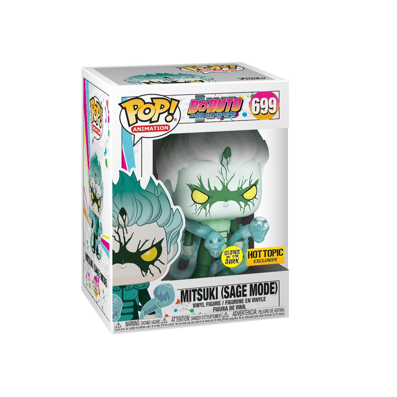 Boruto Naruto Next Generations Mitsuki (Sage Mode) GITD Exclusive