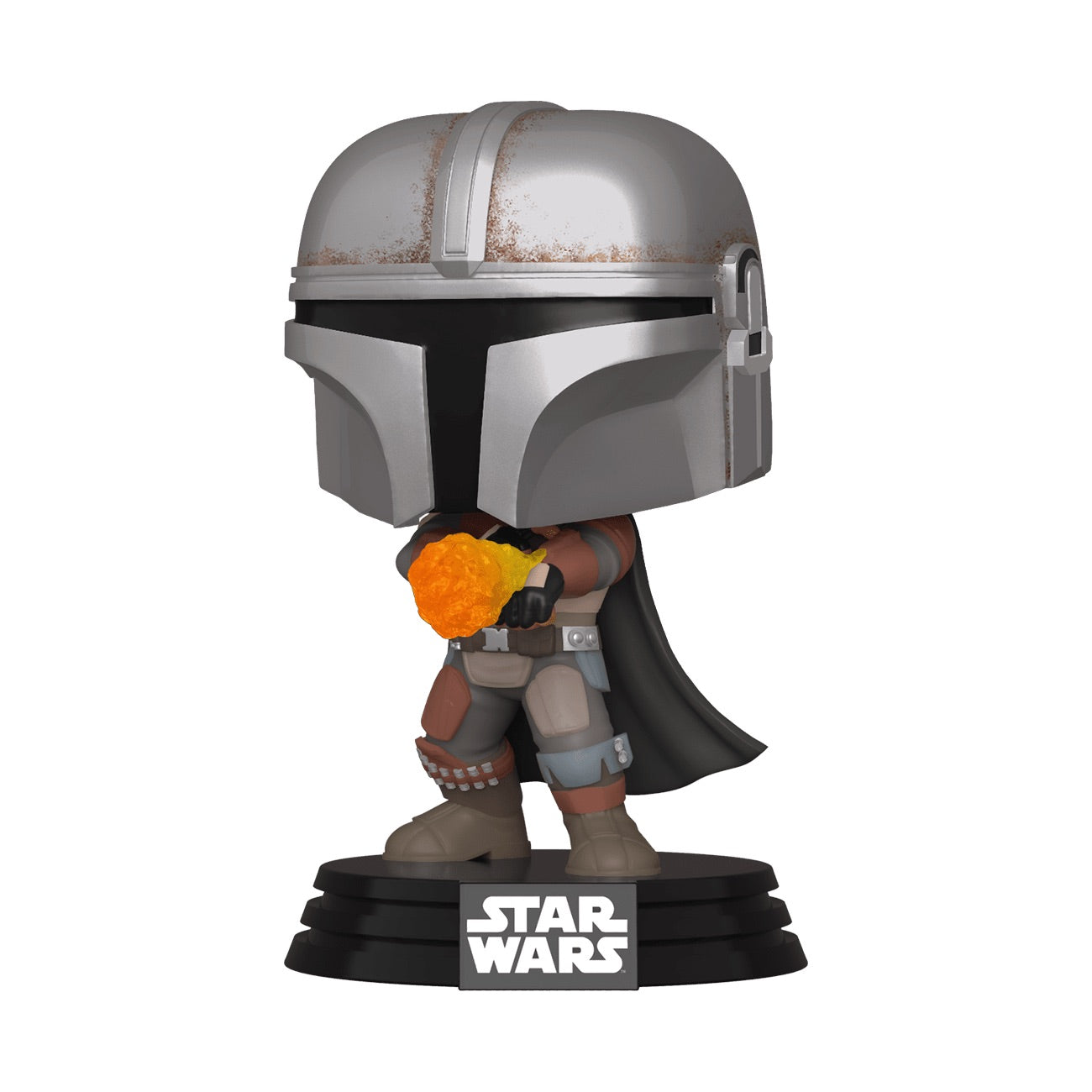 Star Wars The Mandalorian Flame Throwing Exclusive