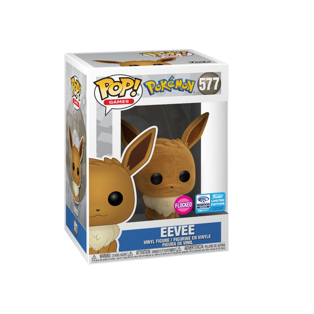 Pokemon Eeevee Flocked Convention Exclusive