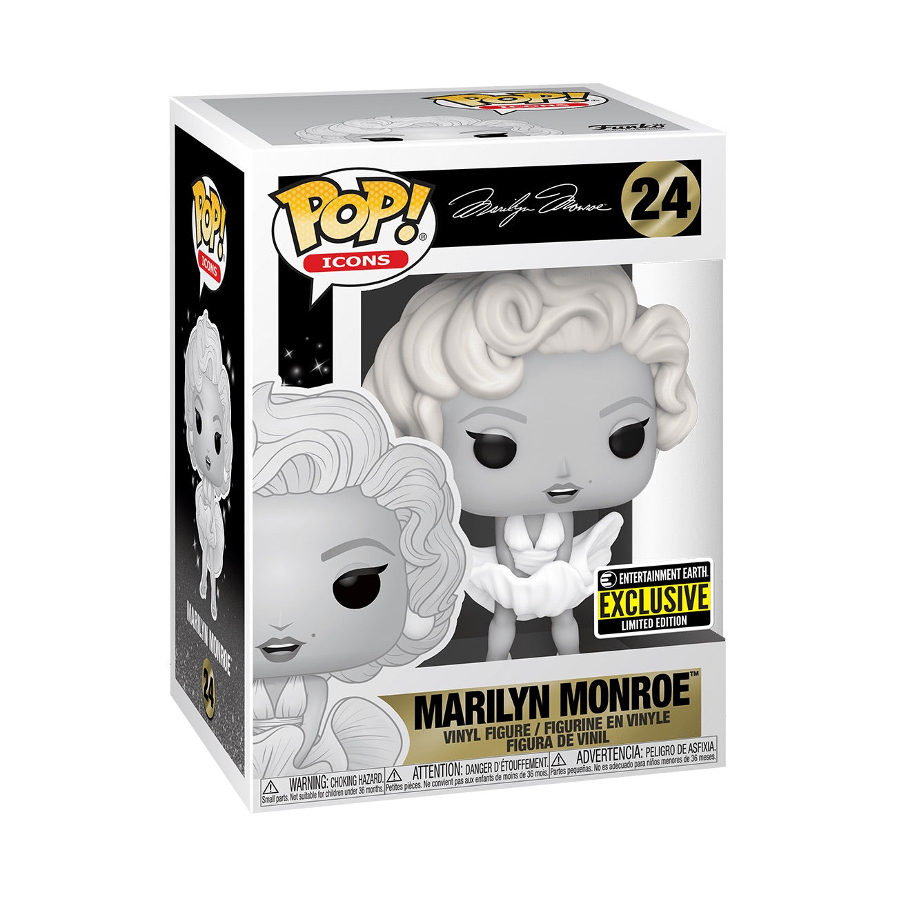 Marilyn Monroe Black and White Exclusive