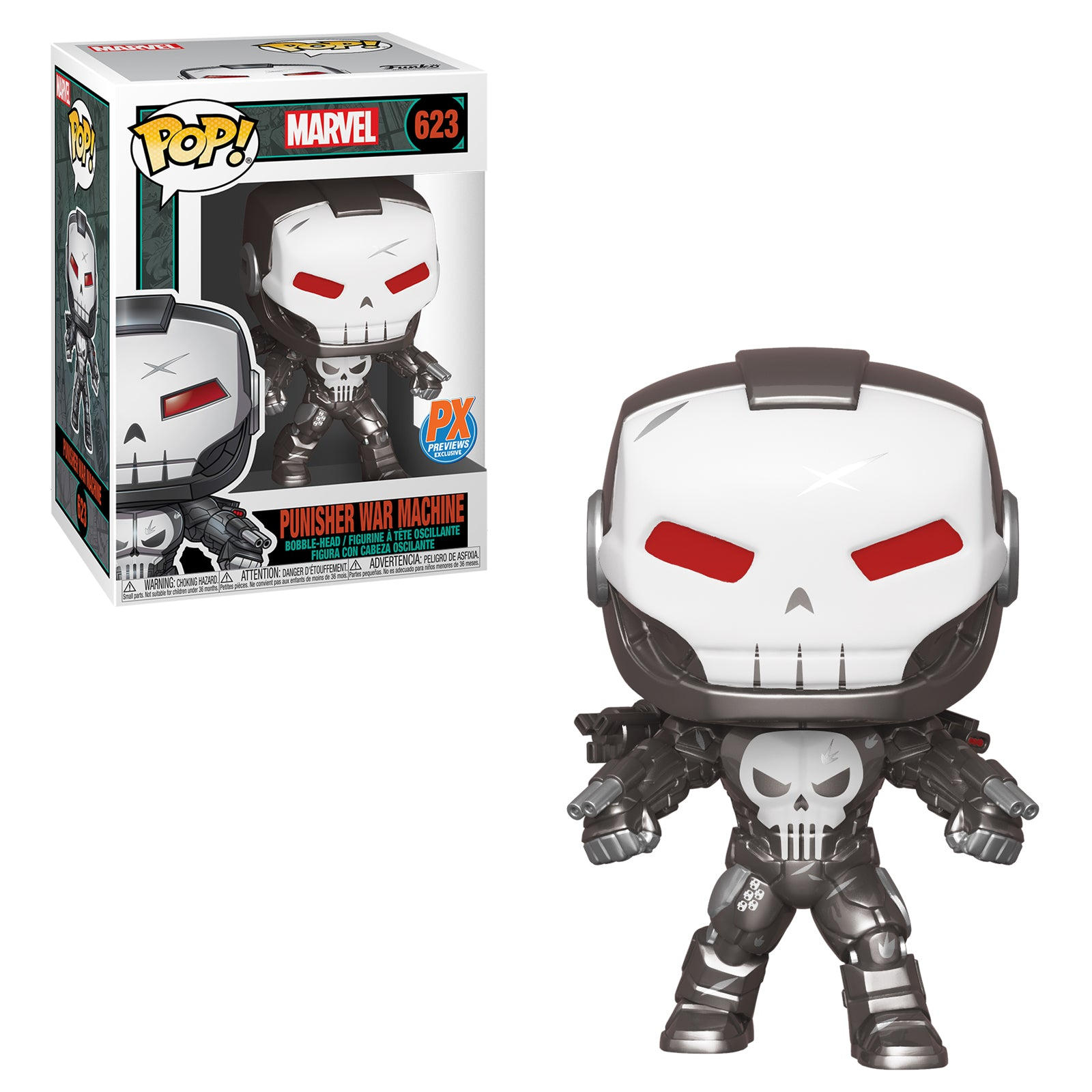 Marvel Punisher War Machine Previews Exclusive with Comic (Preorder)