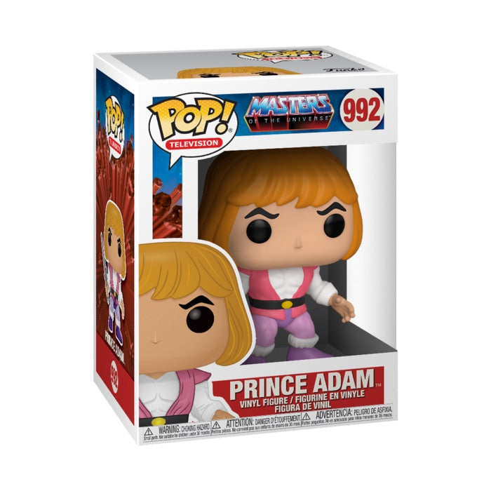 Masters of the Universe Prince Adam (September Preorder)