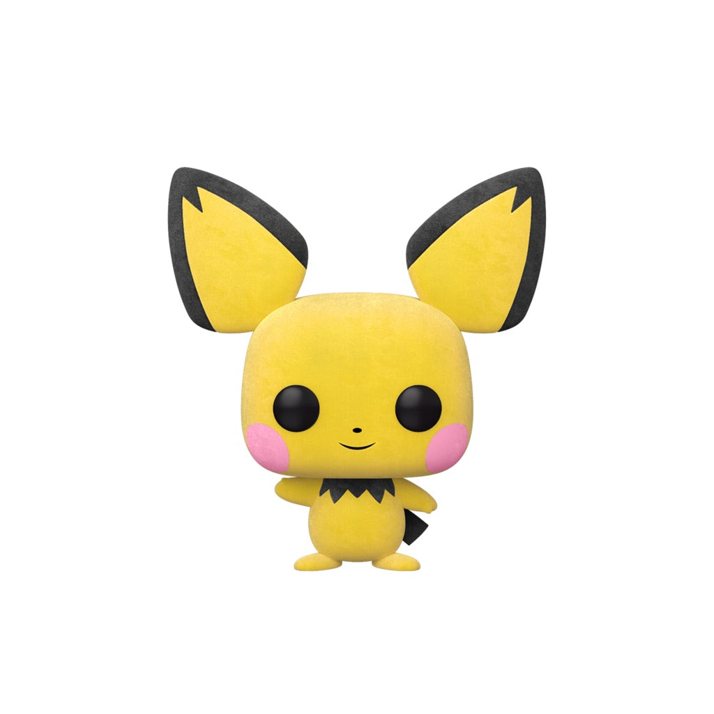 Pokemon Pichu Flocked Convention Exclusive