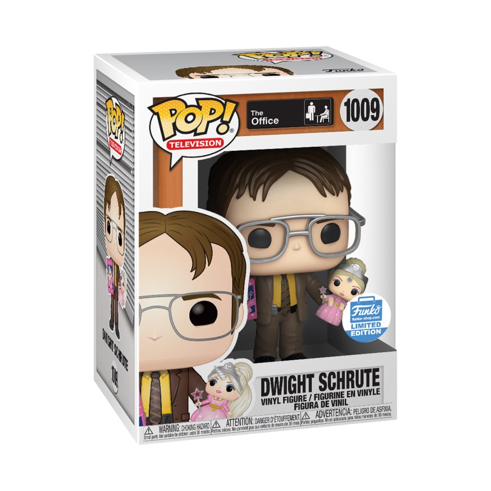 The Office Dwight Schrute with Princess Unicorn Doll Exclusive