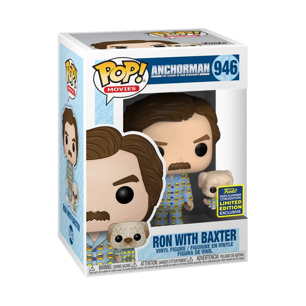 Anchorman Ron with Baxter Summer Convention Exclusive