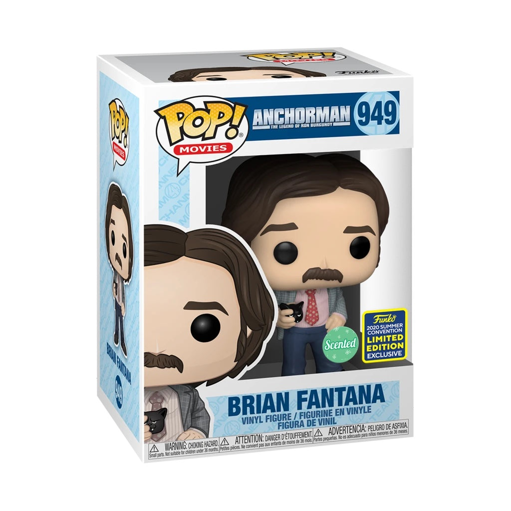 Anchorman Brian Fantana Scented Summer Convention Exclusive