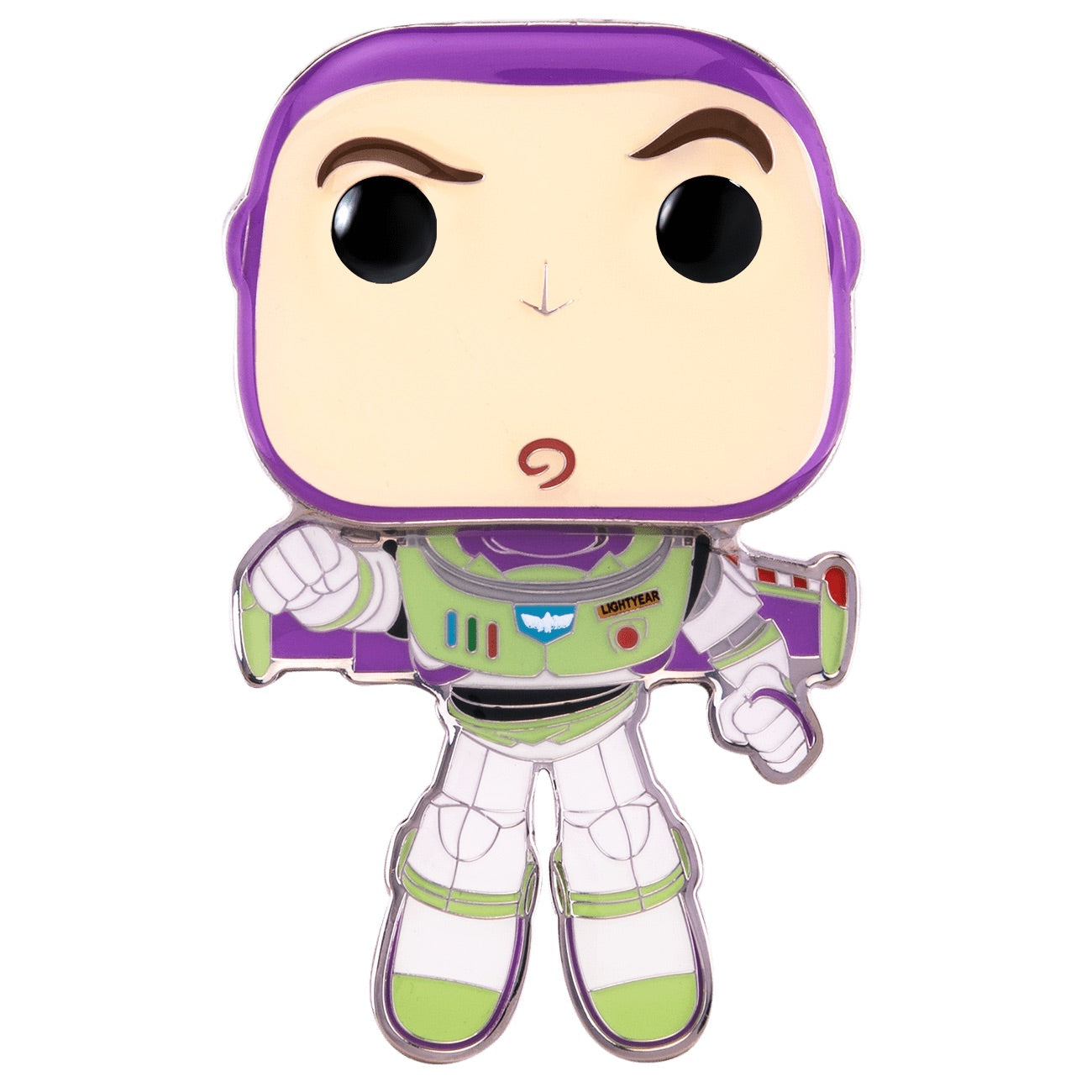 Disney Pixar Buzz Lightyear Large Enamel Pin