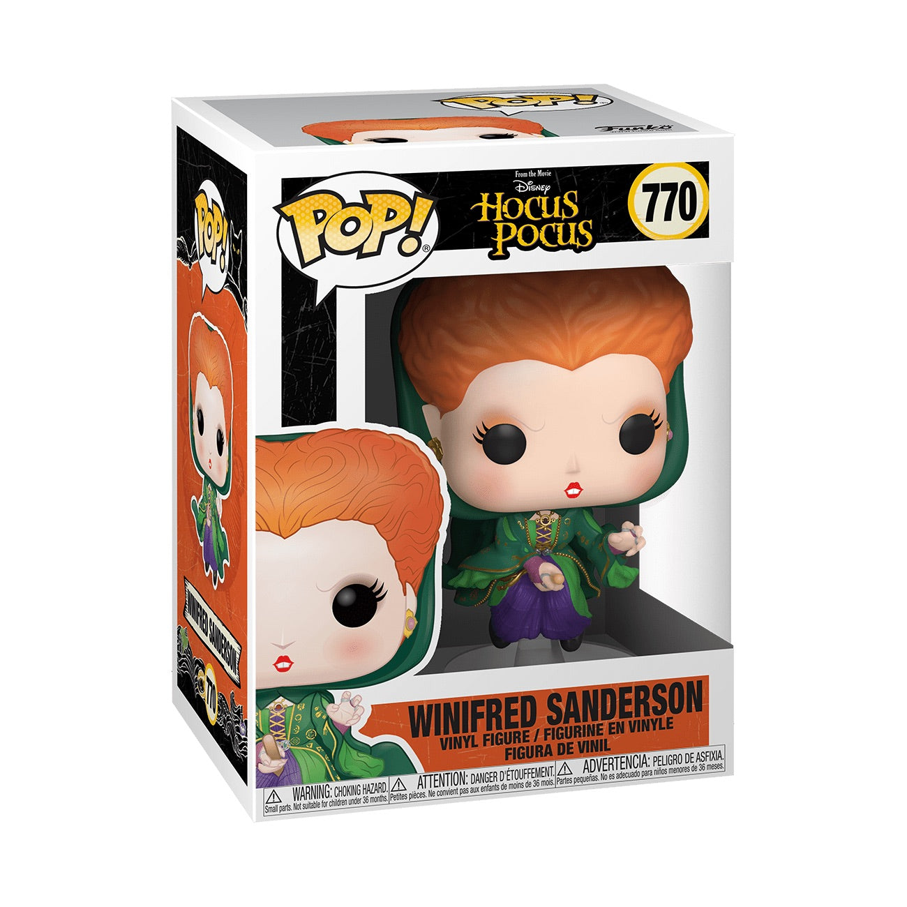 Disney Hocus Pocus Winifred Sanderson Flying (September Preorder)