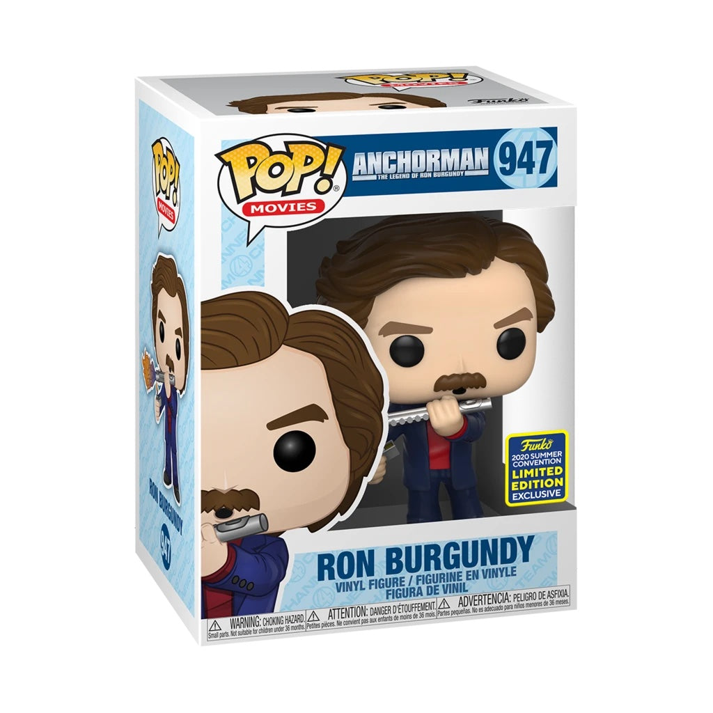 Anchorman Ron Burgundy with Flute Summer Convention Exclusive