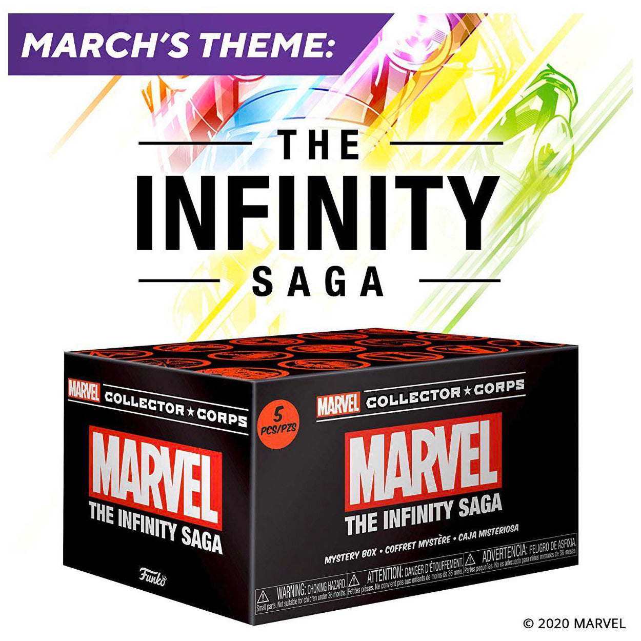 Infinity Saga Marvel Collector Corps Box Exclusive