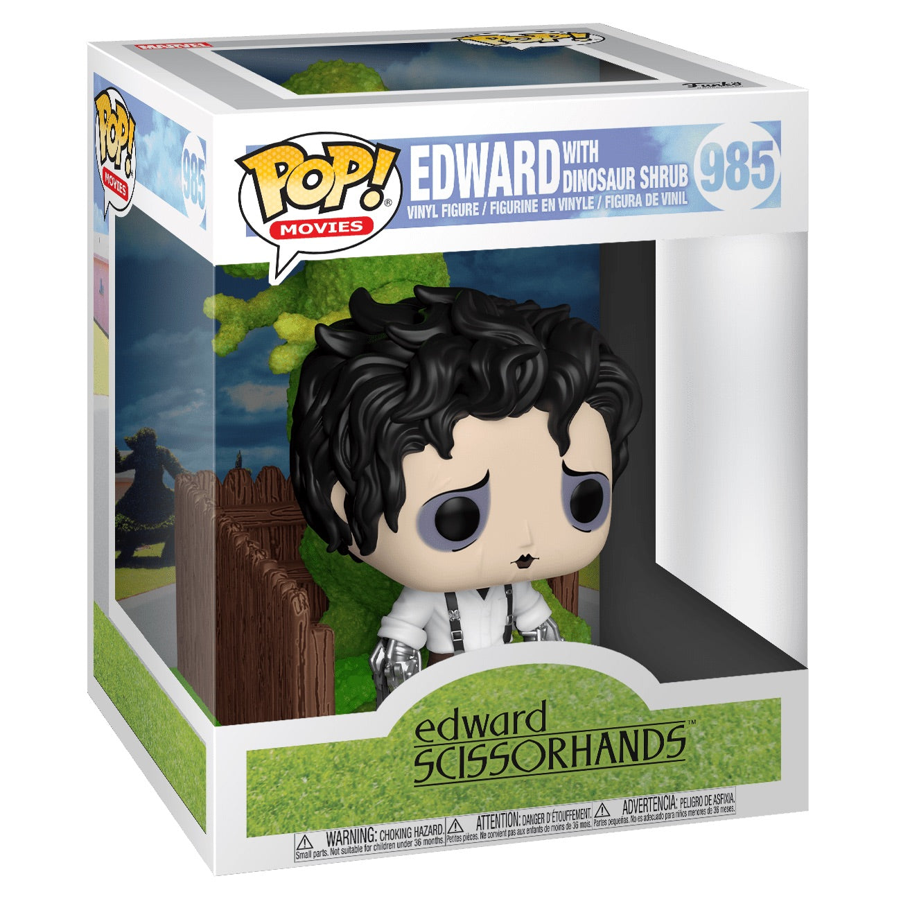 Edward Scissorhands Edward and Dino Hedge Deluxe (October Preorder)