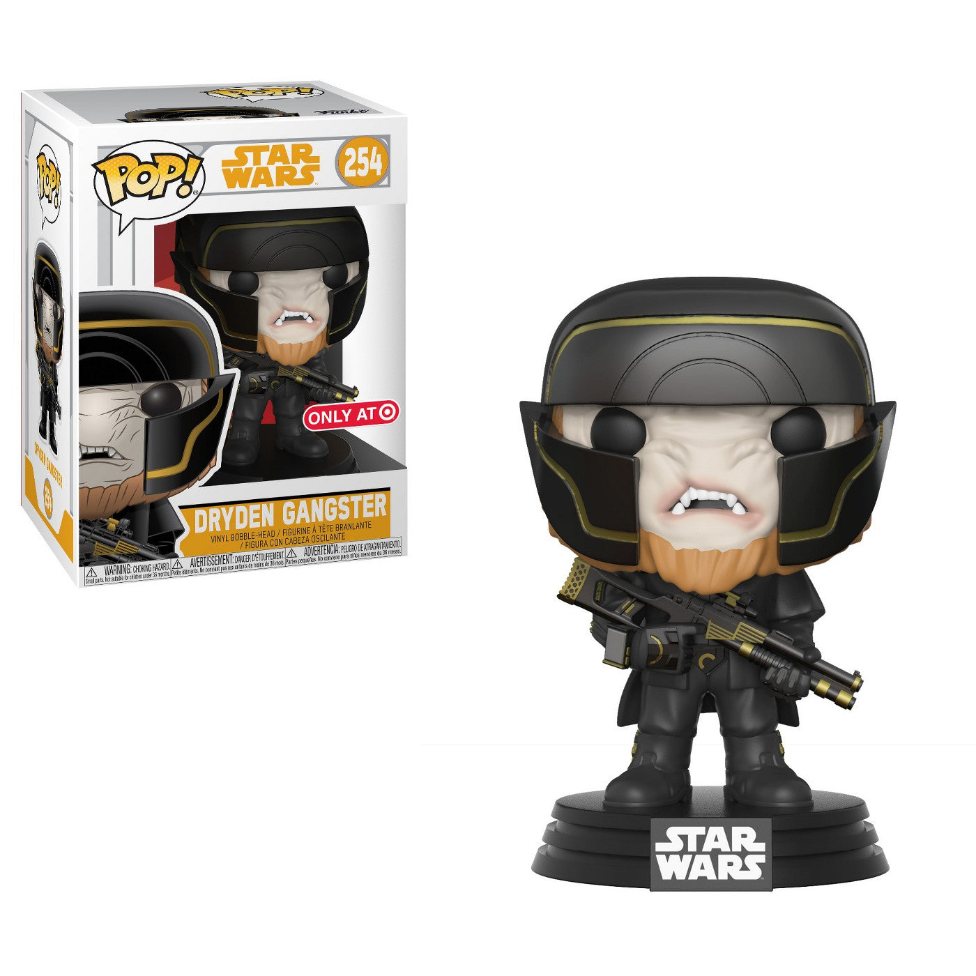 Star Wars Solo Dryden Henchman Exclusive