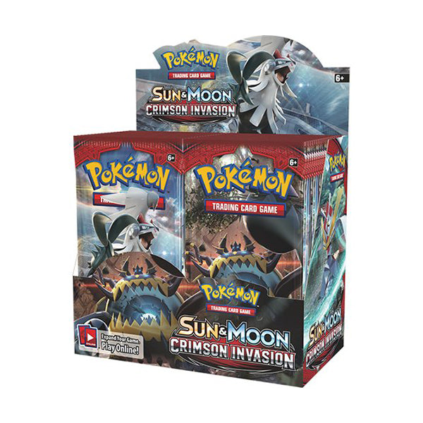 Pokemon TCG: Sun and Moon Crimson Invasion Boosters