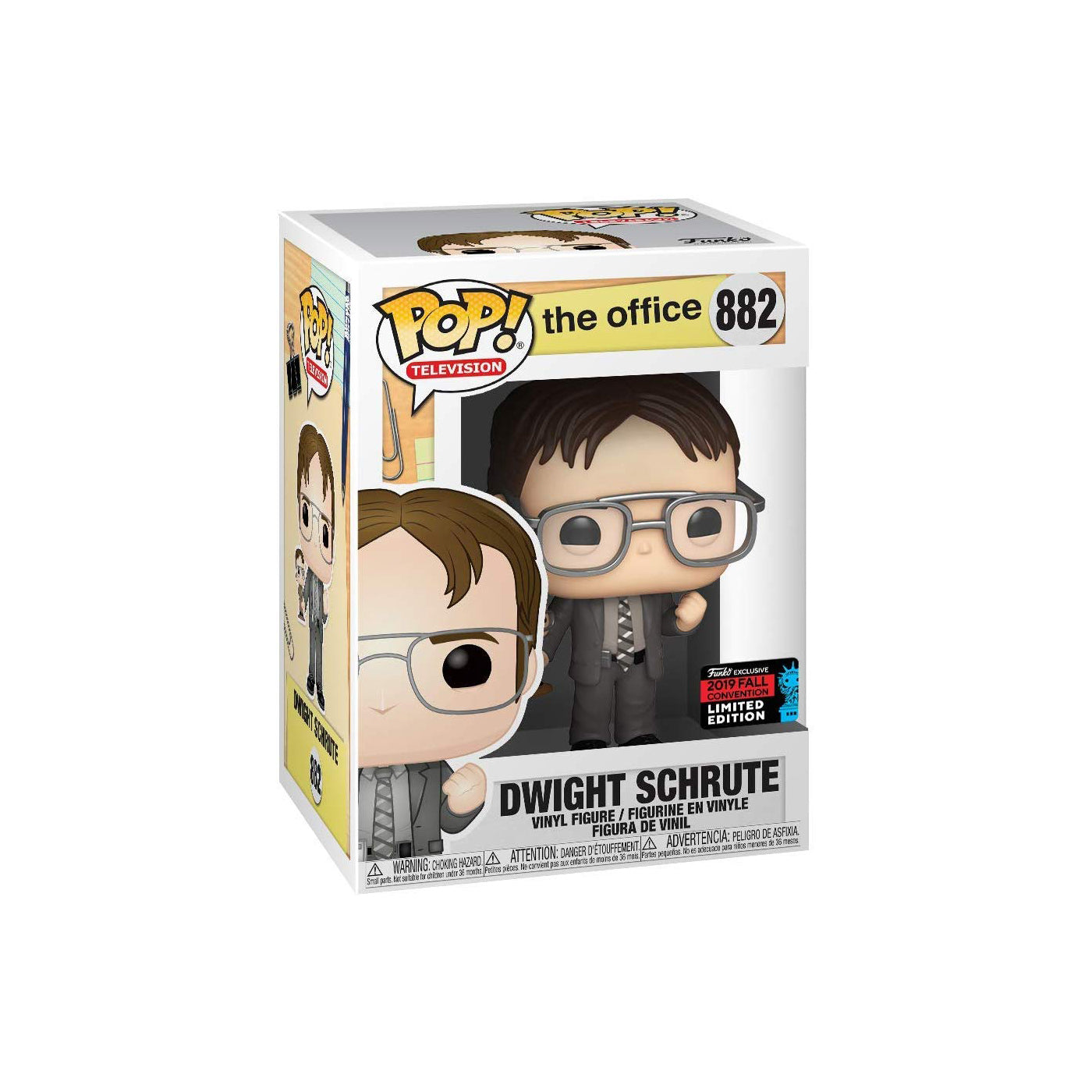 The Office Dwight Holding Dwight Figure Fall Convention Exclusive
