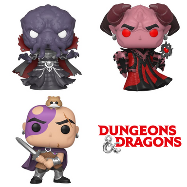 Dungeons and Dragons Bundle [3 Figures] (February Preorder)