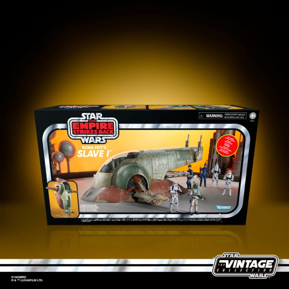 Star Wars The Vintage Collection Boba Fett's Slave I Vehicle