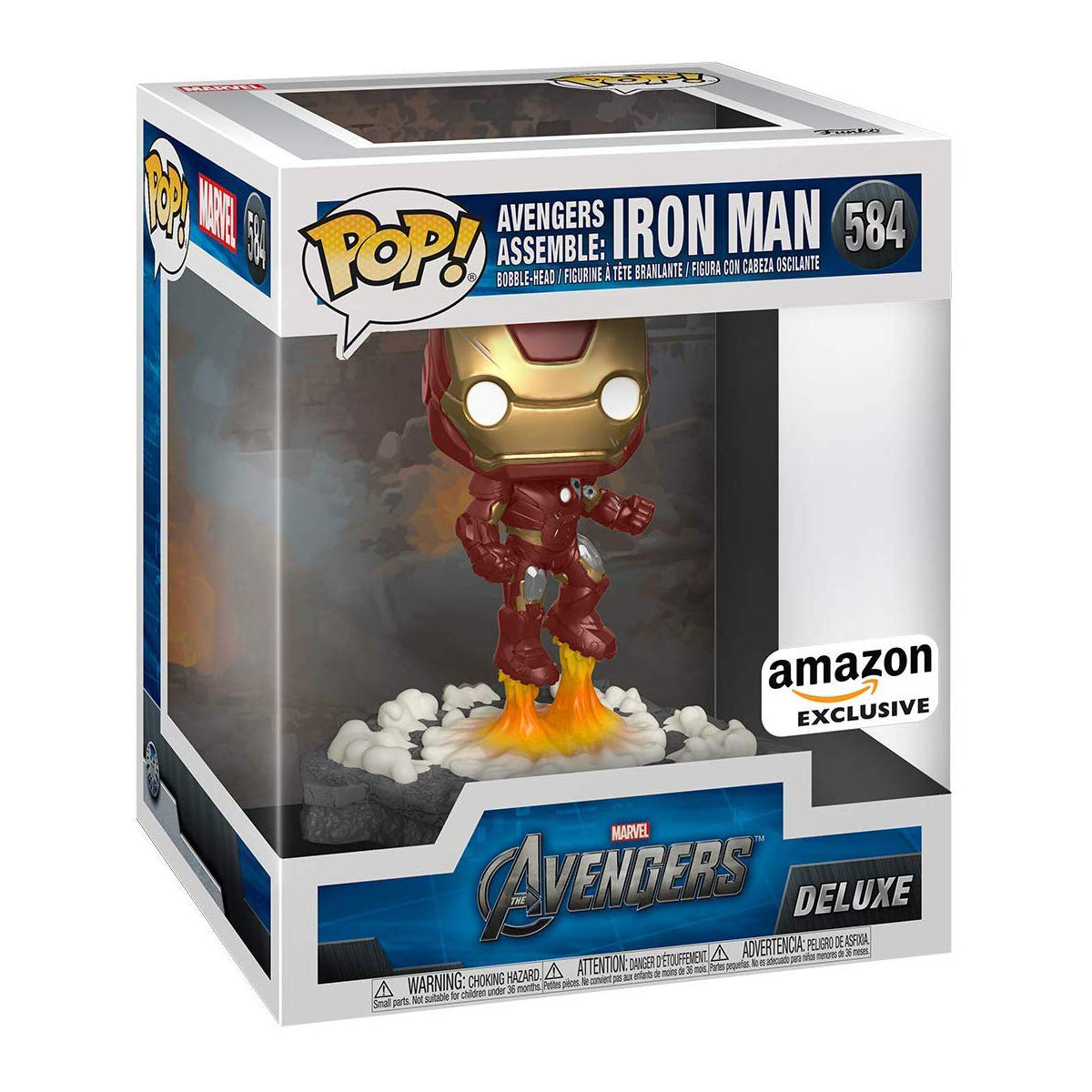 Marvel Avengers Assemble Iron Man Deluxe Exclusive