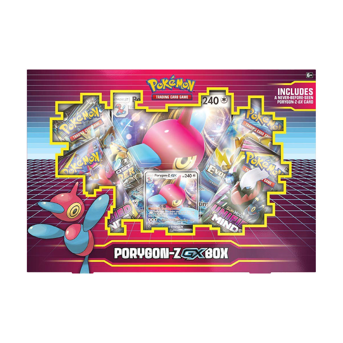 Pokemon TCG Porygon GX Box