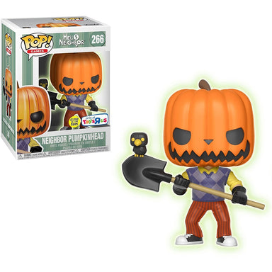 Hello Neighbor Neighbor PumpkinHead Glow in the Dark Exclusive