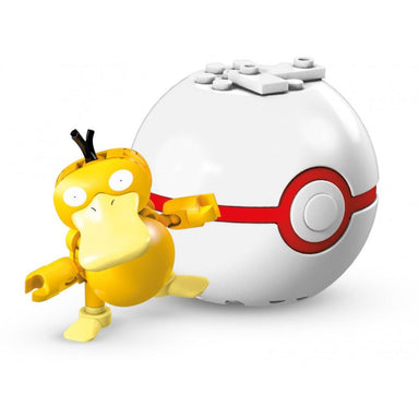 Mega Construx Pokemon Poke Ball Series 10 Psyduck