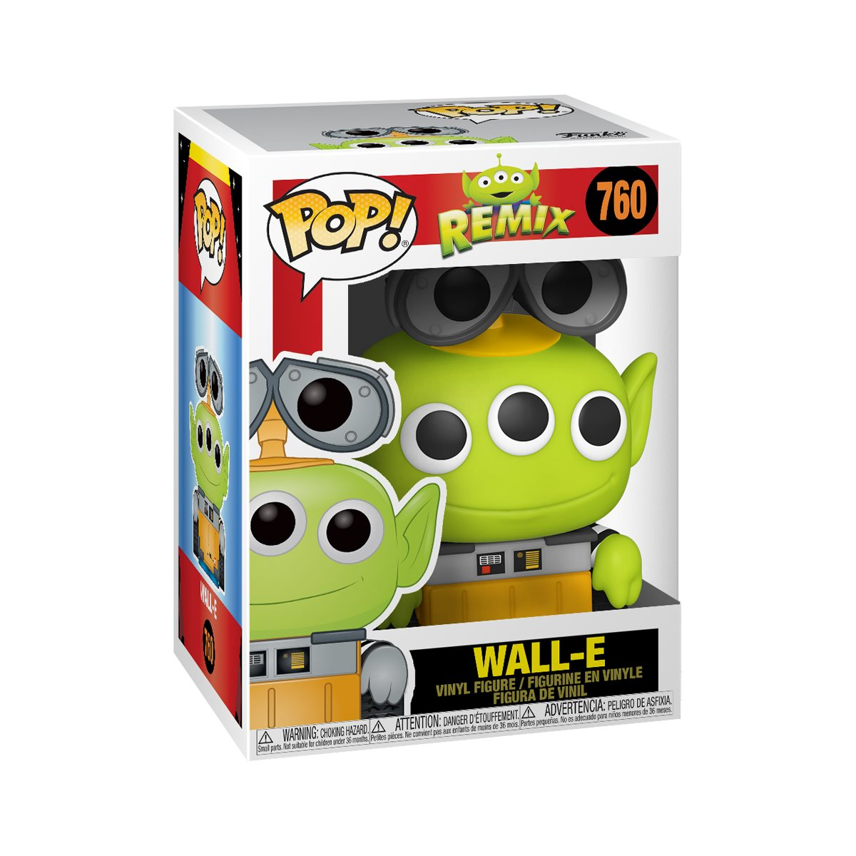 Pixar 25th Anniversary Alien as Wall-E