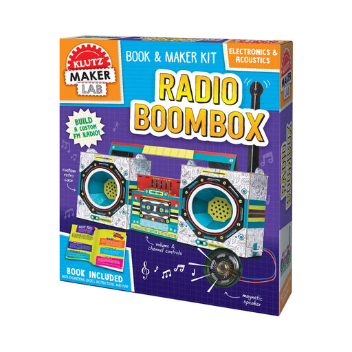 Maker Lab Radio Boombox Kit