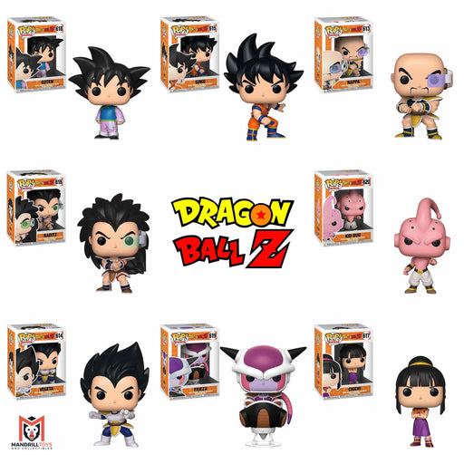 Dragon Ball Z Wave 6 Bundle [8 Figures] (July Preorder)