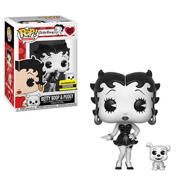 Betty Boop & Pudgy Black and White Exclusive