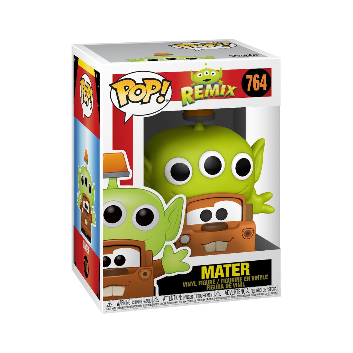 Pixar 25th Anniversary Alien as Mater