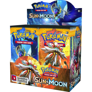 Pokemon TCG: Sun and Moon Boosters