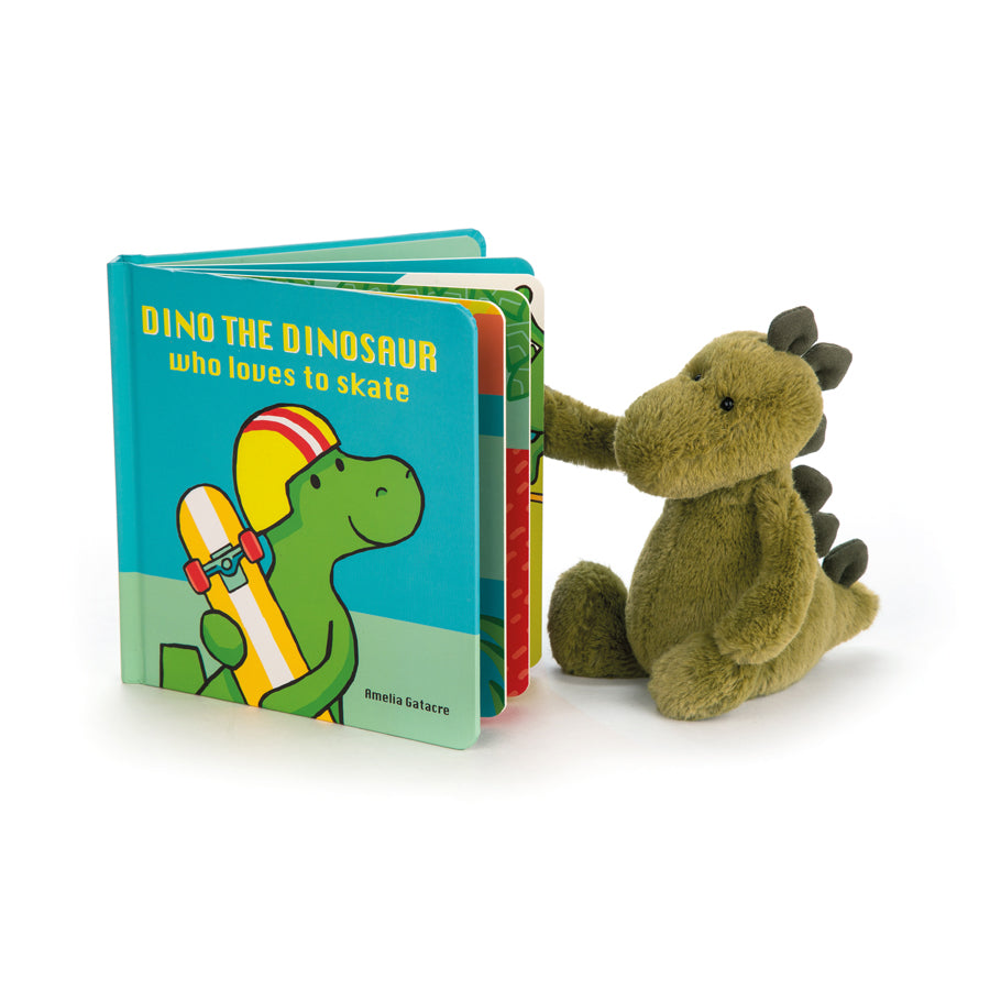 Dino The Dinosaur Who Loves to Skate Book