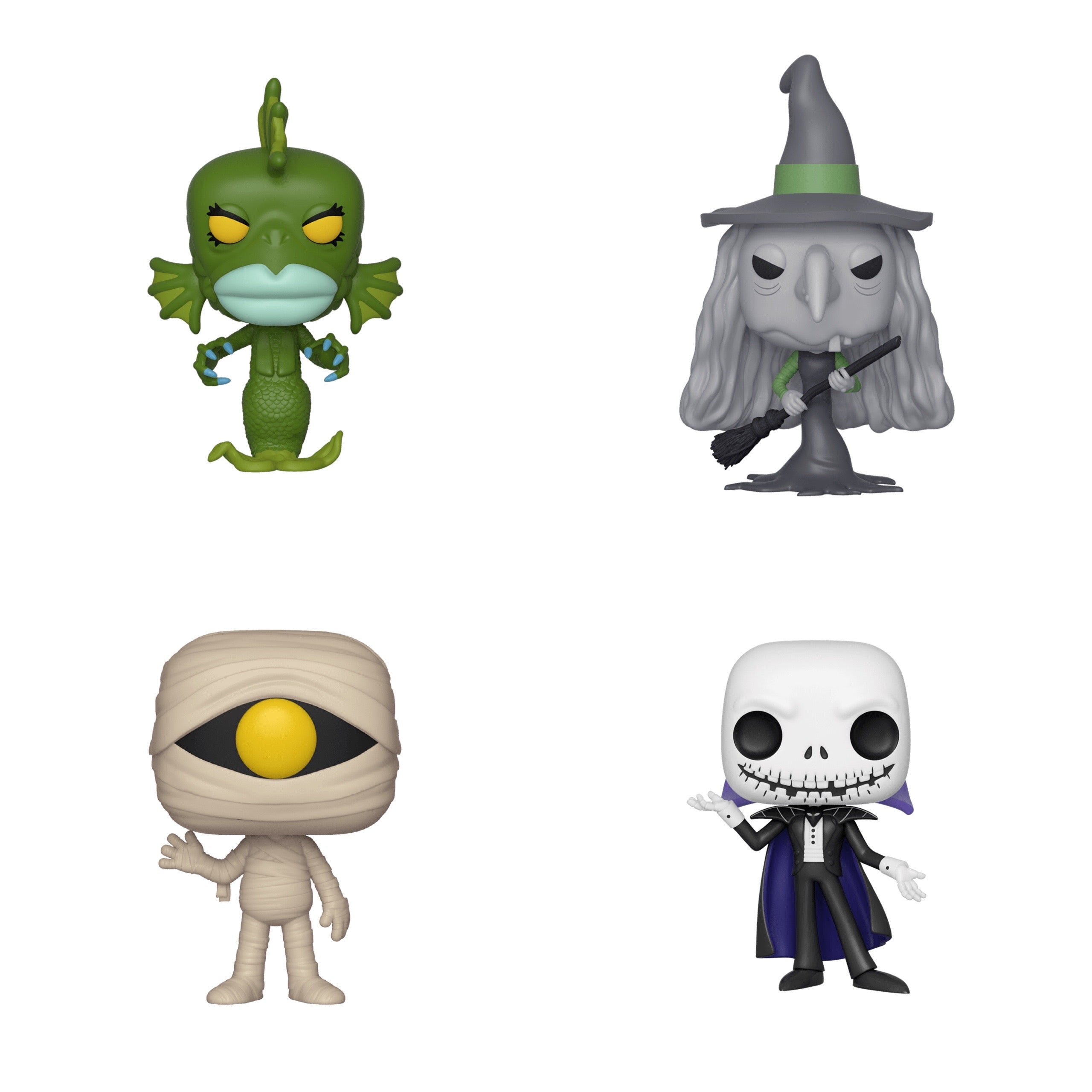 Nightmare Before Christmas Bundle (4 Figures)