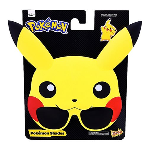Pokemon Pikachu Sun-Staches Sunglasses